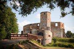 Ruinas viejas del castillo Fotografía de archivo libre de regalías