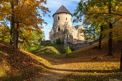 Ruinas viejas del castillo Fotos de archivo