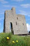 Ruinas viejas del castillo de Ballybunions Imagen de archivo