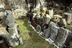 Ruinas viejas del monasterio Fotografía de archivo libre de regalías