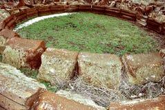 Ruinas viejas del monasterio Imagen de archivo