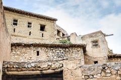 Ruinas Wadi Bani Habib Foto de archivo libre de regalías