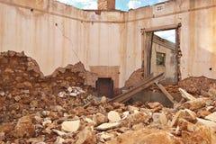Ruinas y escombros Foto de archivo libre de regalías