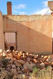 Ruinas y escombros Imágenes de archivo libres de regalías