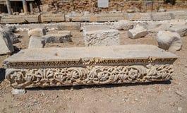Ruinas y sitio arqueológico de Knidos, ciudad de Grecia antigua, imágenes de archivo libres de regalías
