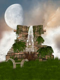 Ruine Photos stock