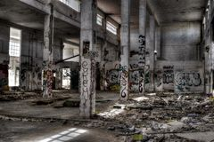 Ruine abandonnée Photos libres de droits