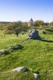 Ruine Alsnohus Hovgarden Lizenzfreie Stockfotos