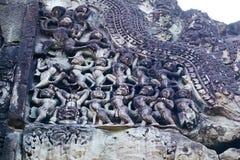 Ruine Angkor Vat, Siem Reap, Cambodge Image libre de droits