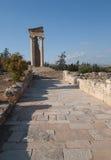 Ruine antic de la Chypre Grèce Image libre de droits