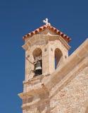 Ruine antic de la Chypre Grèce Photographie stock libre de droits