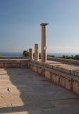 Ruine antic de la Chypre Grèce Images stock
