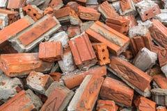 Ruine après la démolition Photos libres de droits