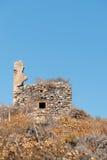 Ruine au dessus de Monemvasia Photo stock