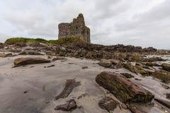 Ruine auf dem Ring von Kerry lizenzfreie stockbilder