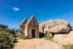 Ruine in Bretagne Lizenzfreie Stockbilder