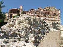 Ruine in Bulgarien Lizenzfreie Stockbilder