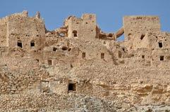 Ruine in Chenini (Tunesien) Stockbild