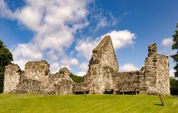 Ruine d'église de Rya Images stock