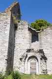 Ruine S d'église : t Trinitatis Visby photos stock