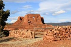Ruine d'église des PECO Photo stock