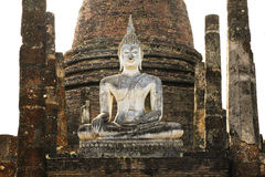 Ruine d'image de Bouddha Photographie stock