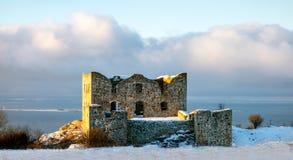 Ruine de Brahehus Images libres de droits