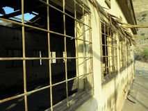 Ruine de caserne d'armée en EN Gedi, Israël Photos libres de droits