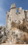 Ruine de château à zuheros Images libres de droits