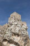 Ruine de château à zuheros Photo stock