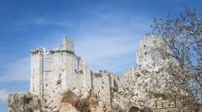 Ruine de château à zuheros Image stock