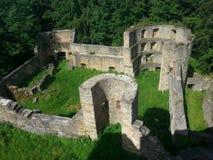 ruine de château Image libre de droits