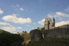Ruine de château de Corfe Photo libre de droits