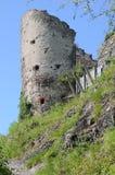 Ruine de château de Maegdeburg images libres de droits