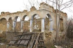 Ruine de Chambre Image libre de droits