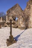 Ruine de chapelle de campagne Photos libres de droits