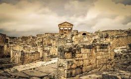 Ruine de Dougga Images libres de droits