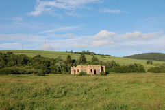Ruine de fonderie, Frantiskova Huta, Slovaquie Images libres de droits