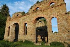 Ruine de fonderie, Frantiskova Huta, Slovaquie Images stock