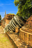 Ruine de pagoda à l'endroit antique de tourisme Image stock