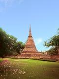 Ruine de pagoda Image libre de droits