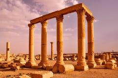 Ruine de Palmyra photo stock
