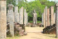Ruine de Polonnaruwa dans Sri Lanka Image stock