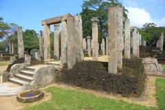 Ruine de Polonnaruwa dans Sri Lanka Photos stock