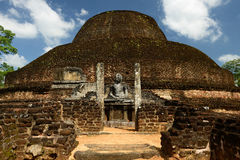 Ruine de Polonnaruwa, Sri Lanka Images stock
