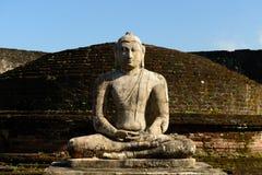 Ruine de Polonnaruwa, Vatadage (Chambre ronde), Sri Lanka Images libres de droits