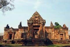 Ruine de sanctuaire de ventre de Muang de Buriram Thaïlande Photographie stock libre de droits