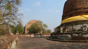 Ruine de temple de St Mahaeyong de temple Images libres de droits