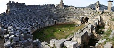 Ruine de Xanthos, Turquie photographie stock libre de droits