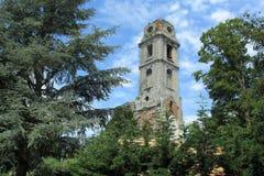 Ruine der Abtei von Cambron in Brugelette Stockfotografie